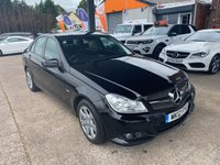 2012 MERCEDES-BENZ C CLASS 2.1 C220 CDI BLUEEFFICIENCY SE 4d 168 BHP £4990.00