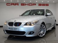 2006 BMW 5 SERIES 3.0 530D M SPORT ( 231 BHP ) 4dr AUTO..NAV..LEATHER..XENONS £4990.00
