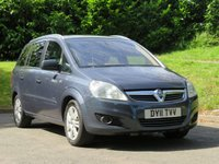 USED 2011 11 VAUXHALL ZAFIRA 1.8 ELITE 5d 138 BHP 7 SEATS, FULL LEATHER & MORE!