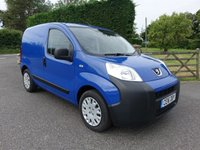 USED 2016 16 PEUGEOT BIPPER PROFESSIONAL 1.2 HDI 75 BHP Direct From Leasing Company With Only 10000 Miles! Top Of Range Model With Air Con & Electric Windows