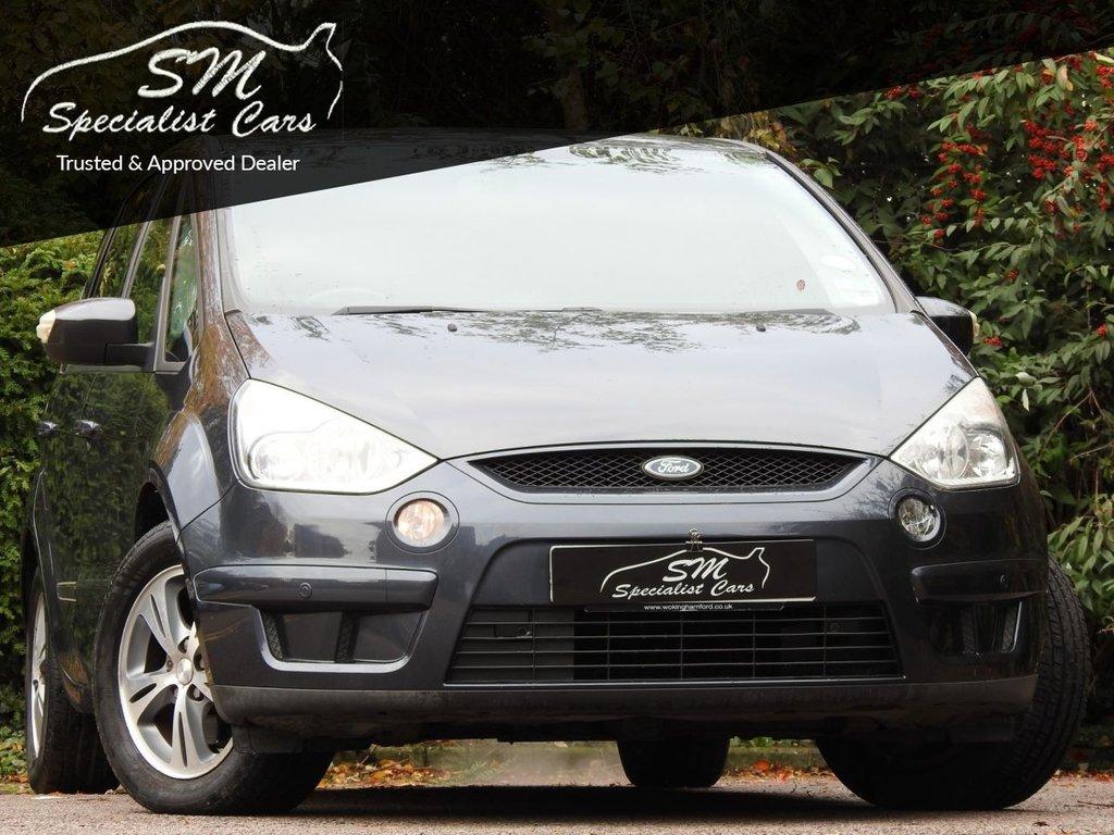 USED 2006 56 FORD S-MAX 2.0 ZETEC 145 5d 145 BHP 50 MPG DRIVES SUPERB A/C VGC