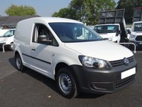 USED 2014 14 VOLKSWAGEN CADDY C20 PLUS STARTLINE 1.6 TDI 102 BHP Popular TDI Caddy Direct From Electric Authority With Low Mileage, Air Conditioning Etc Very Clean Example!