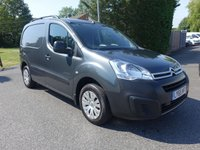 USED 2016 65 CITROEN BERLINGO 625 ENTERPRISE L1 1.6 HDI 75 BHP Stunning Shark Grey High Specification Berlingo Enterprise! Only 13000 Miles With Full Citroen Service History, Superb Example!