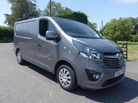 USED 2016 66 VAUXHALL VIVARO L1H1 2700 SPORTIVE 1.6 CDTI  BITURBO 125 BHP Direct From Leasing Company With Only 34000 Miles & Full Service History, Popular Colour & High Specification!