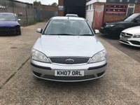 USED 2007 07 FORD MONDEO 2.0 TDCi SIV LX 5dr full vosa history
