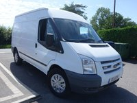 2013 FORD TRANSIT 350 TREND MWB MEDIUM HIGHTOP 2.2 TDCI  125 BHP £7995.00