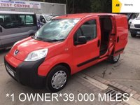 USED 2011 11 PEUGEOT BIPPER 1.4 HDI S 1d 68 BHP *39,000 MILES*1 OWNER*