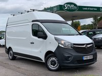 USED 2016 65 VAUXHALL VIVARO 1.6 2900 L2H2 CDTI P/V ECOFLEX S/S 1d 118 BHP Air Con, Long Wheel Base High Roof, One Owner, Finance Arranged.