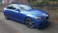 2016 BMW 4 SERIES 3.0 430D XDRIVE M SPORT GRAN COUPE 4d AUTO 255 BHP £19750.00