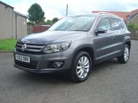 USED 2013 63 VOLKSWAGEN TIGUAN 2.0 MATCH TDI BLUEMOTION TECH 4MOTION DSG 5d AUTO 139 BHP ////   OVER 2K OF FACTORY FITTED EXTRAS ON THIS VEHICLE    ////