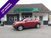 USED 2011 11 NISSAN JUKE 1.6 ACENTA 5d 117 BHP FINANCE AND PART EXCHANGE WELCOME. 3 MONTHS WARRANTY. ALL CARS HAVE A YEAR MOT AND A FRESH SERVICE.