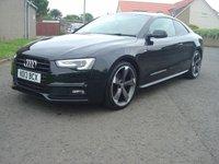 2013 AUDI A5 2.0 TDI BLACK EDITION 2d 177 BHP £10950.00