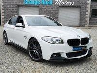 2015 BMW 5 SERIES 3.0 530D M SPORT 4d AUTO 255 BHP £17650.00