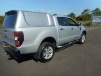USED 2015 65 FORD RANGER 3.2 WILDTRAK 4X4 DCB TDCI 1d AUTO 197 BHP SAT NAV LEATHER NO VAT