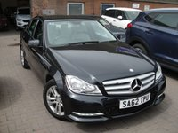 USED 2012 62 MERCEDES-BENZ C CLASS 2.1 C220 CDI BLUEEFFICIENCY EXECUTIVE SE 4d AUTO 168 BHP ANY PART EXCHANGE WELCOME, COUNTRY WIDE DELIVERY ARRANGED, HUGE SPEC