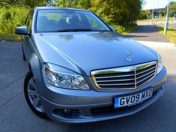 2009 MERCEDES-BENZ C 200  09  MERCEDES-BENZ C CLASS 2.1 CDI 4d AUTO 168 BHP** DIESEL, AUTOMATIC, CRUISE CONTROL, AIRCON, YES ONLY 49K, STUNNING VEHICLE ** £6295.00