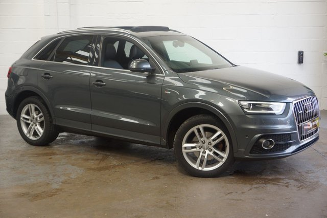 2012 12 AUDI Q3 2.0 TDI QUATTRO S LINE 5d AUTO 175 BHP RESERVED FOR A CLIENT IN IRELAND