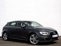 "USED 2016 16 AUDI A3 2.0 TDI QUATTRO S LINE NAV 5d 148 BHP Xenon Headlights with 18"" 5 Spoke Alloy Wheels.......Front & Rear Parking Sensors......"