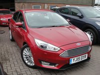 USED 2015 15 FORD FOCUS 1.0 TITANIUM X 5d 124 BHP ANY PART EXCHANGE WELCOME, COUNTRY WIDE DELIVERY ARRANGED, HUGE SPEC