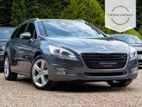 USED 2012 62 PEUGEOT 508 2.2 GT SW HDI 5d AUTO 200 BHP