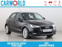 USED 2016 66 AUDI A1 1.6 SPORTBACK TDI S LINE 5d 114 BHP 1 OWNER   PART LEATHER   DAB  