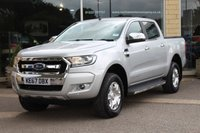 USED 2017 67 FORD RANGER 2.2 LIMITED 4X4 DCB TDCI 1d AUTO 148 BHP
