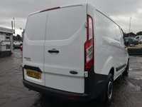USED 2017 67 FORD TRANSIT CUSTOM 2.0 290 LR P/V 1d 104 BHP NO DEPOSIT AVAILABLE, DRIVE AWAY TODAY!!
