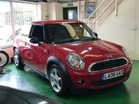 USED 2008 08 MINI HATCH ONE 1.4 ONE 3d 94 BHP Looking Good with Tinted Rear Glass Alloys