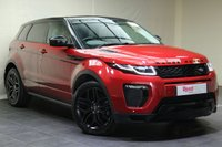 "USED 2016 16 LAND ROVER RANGE ROVER EVOQUE 2.0 TD4 HSE DYNAMIC 5d 177 BHP 20""ALLOYS+LEATHER+PARKING SENSORS+NAV+FULL SERVICE HISTORY+CLIMATE CONTROL+PRIV GLASS+BLUETOOTH+PAN ROOF"
