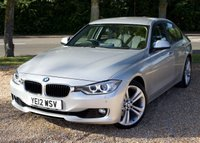 """USED 2012 12 BMW 3 SERIES 3.0 330D SE SPORT STEP 4d AUTO 255 BHP/ SAT NAV/ HEATED SEATS FULLY LOADED BMW 330D SE SPORT STEP AUTOMATIC COMES WITH SAT NAV/ CRUISE CONTROL/ XENONS/ HEATED SEATS/ LEATHER SEATS/ BLUETOOTH/ PARKING SENSORS/ WITH FULL SERVICE HISTORY/ NEW SERVICE @29K MILEAGE/ 1 YEAR NEW MOT/ 2 KEYS/ ROAD TAX £125,- ANNUAL/ WARRANTY/ HPI/   BOOK A TEST DRIVE TODAY! APPLY FOR A CAR FINANCE ON OUR WEBSITE PAGE """"FINANCE""""."""