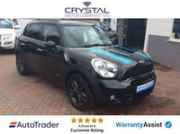 2013 MINI COUNTRYMAN 2.0 MINI COUNTRYMAN COOPER SD ALL 4 £9295.00