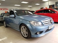 USED 2009 59 MERCEDES-BENZ C CLASS 2.1 C250 CDI BLUEEFFICIENCY SPORT 4d AUTO+LEATHER+FOGS+ALLOYS+SERVICE HISTORY+