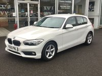 USED 2015 65 BMW 1 SERIES 1.5 116D ED PLUS SAT NAV 5 DOOR HATCHBACK 114 BHP