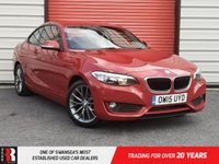 USED 2015 15 BMW 2 SERIES 2.0 218D SE 2d 148 BHP 1 Previous Owner
