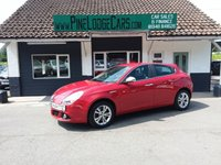 USED 2014 64 ALFA ROMEO GIULIETTA 2.0 JTDM-2 DISTINCTIVE 5d 150 BHP FINANCE AND PART EXCHANGE WELCOME. 3 MONTHS WARRANTY. ALL CARS HAVE A YEAR MOT AND A FRESH SERVICE.