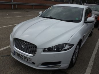 2012 JAGUAR XF 2.2 D LUXURY 4d AUTO 190 BHP £9990.00