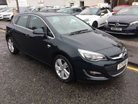 USED 2014 14 VAUXHALL ASTRA 1.4 SRI 5d 98 BHP LOW MILLAGE 2014 VAUXHALL ASTRA 1.4 SRI