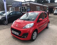USED 2013 62 PEUGEOT 107 1.0 ACTIVE 5d 68 BHP