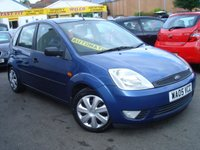 USED 2005 05 FORD FIESTA 1.6 5dr Style Auto