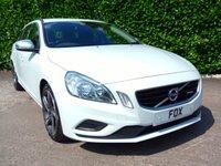 2012 VOLVO V60 1.6 DRIVE R-DESIGN S/S 5d 113 BHP £7475.00