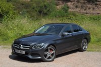 "USED 2015 15 MERCEDES-BENZ C CLASS 2.1 C220 BLUETEC SE EXECUTIVE 4d 170 BHP Genuine 18""AMG ALLOYS LEATHER"