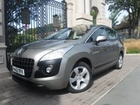 USED 2012 62 PEUGEOT 3008 1.6 ACTIVE E-HDI FAP 5d AUTO 112 BHP ****FINANCE ARRANGED****PART EXCHANGE WELCOME***£30 TAX*SERVICE HISTORY*2KEYS*AUX*USB*AIRCON*REAR PS