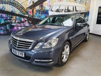 USED 2011 61 MERCEDES-BENZ E CLASS 2.1 E250 CDI BLUEEFFICIENCY AVANTGARDE ED125 4d AUTO 204 BHP