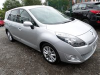 2011 RENAULT SCENIC 1.5 DYNAMIQUE TOMTOM DCI 5d 110 BHP £4295.00