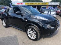 2012 NISSAN JUKE 1.5 ACENTA PREMIUM DCI 5d 110 BHP IN METALLIC BLACK WITH 86000 MILES, 1 OWNER AND A FULL SERVICE HISTORY  £5199.00