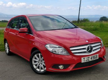2012 MERCEDES-BENZ B CLASS 1.8 B180 CDI BLUEEFFICIENCY SE 5d 109 BHP £6975.00