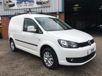 2015 VOLKSWAGEN CADDY 1.6TDI TOP OF RANGE HIGHLINE AIR CON CRUISE ALLOYS COLOUR CODED £6495.00