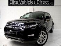 2013 LAND ROVER RANGE ROVER EVOQUE 2.2 SD4 PRESTIGE LUX 5d AUTO 190 BHP