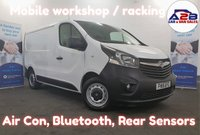 2015 VAUXHALL VIVARO 1.6 2700 CDTI  Mobile Workshop, Bluetooth, Air Con, Internal Racking, Electric Pack and more..... £7980.00