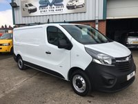 2015 VAUXHALL VIVARO 1.6 CDTI  L2 H1 2900 115BHP LWB LOW ROOF ONE OWNER ULTRA LOW 37K MILES £8495.00